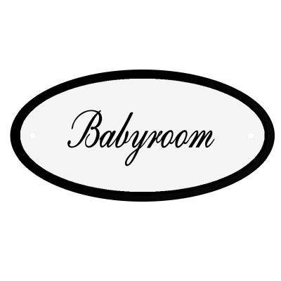 Deurbord Babyroom