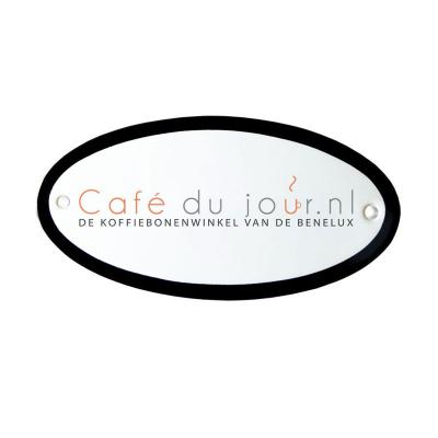 Deurbord met eigen logo