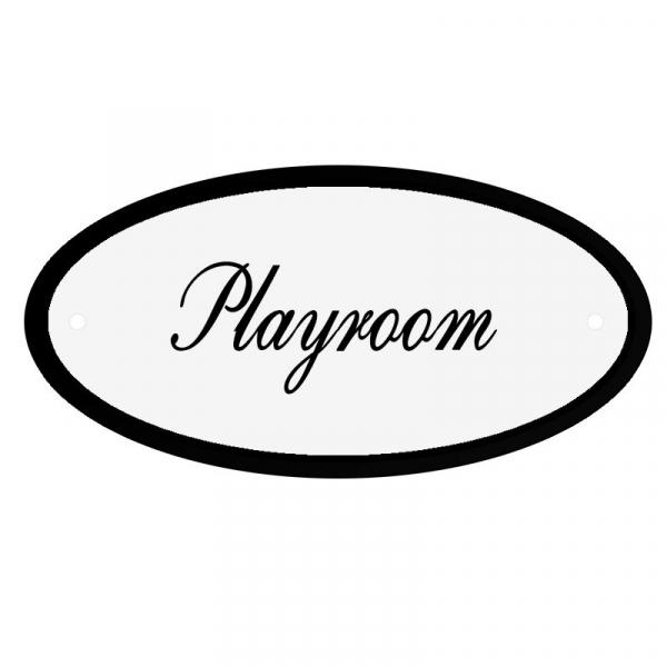 Deurbord Playroom