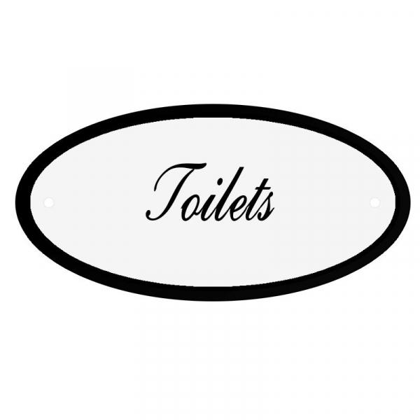 Deurbord Toilets