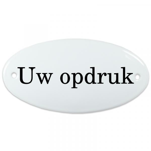 Deurbord eigen naam of tekst zonder kader
