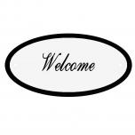 Deurbord Welcome