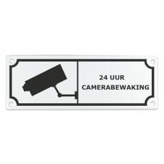 """Camerabewaking"" 20x7cm"