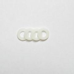 Nylon ringetjes klein (set van 4)