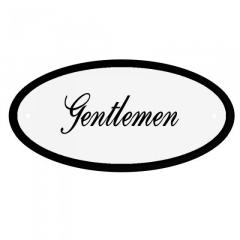 Deurbord Gentleman