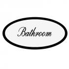 Deurbord Bathroom