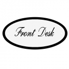 Deurbord Front Desk