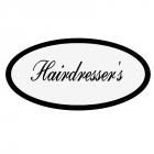 Deurbord Hairdresser's