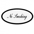 Deurbord No Smoking